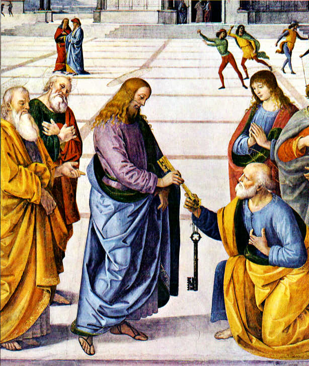 keys to st. peter