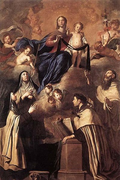 400px-Pietro_Novelli_Our_Lady_of_Carmel_and_Saints