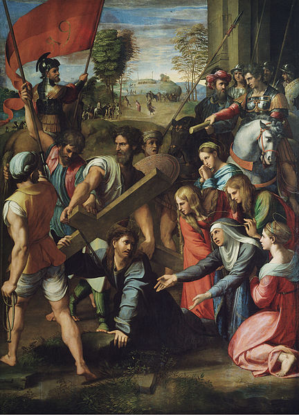 Christ_Falling_on_the_Way_to_Calvary_-_Raphael-1