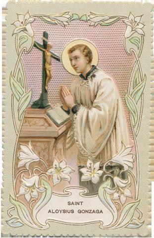 Novena For June St Aloysius June 21