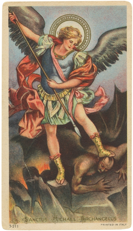 essay on saint michael the archangel In a previous essay, i recognized st thomas the apostle and his feast day july 3rd last month had another saint's feast day that has significance for me and that is st michael the archangel's on september 29th.