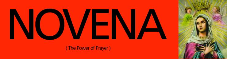 novena com praying with the saints