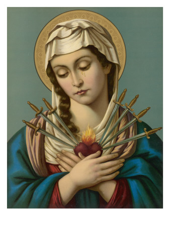 Image result for mother of sorrows