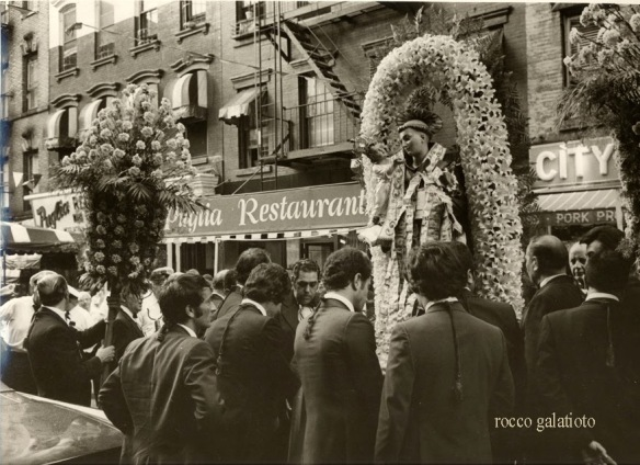 St. Anthony's Feast, New York in the seventies Rocco Galatioto B