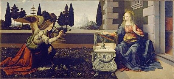 700px-Leonardo_Da_Vinci_-_Annunciazione